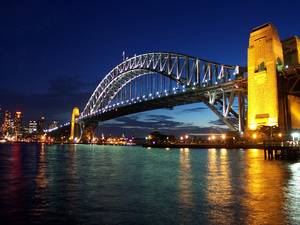 Harbour Bridge - Night View.JPG